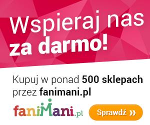 Kupując przez www.fanimani.pl wspierasz naszą Fundacje!