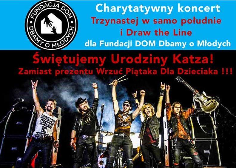 Koncert charytatywny- Wielkie Urodziny Katza