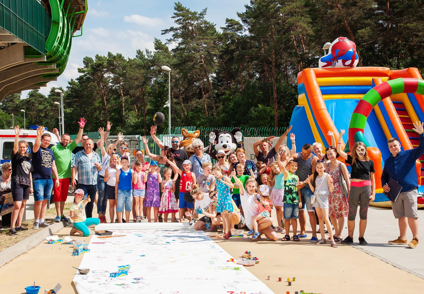 Rekord Guinessa na największa malowankę świata